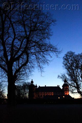 Sweden: Skokloster Castle Night Sky