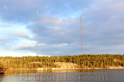 Sweden: Stockholm Nacka Masts