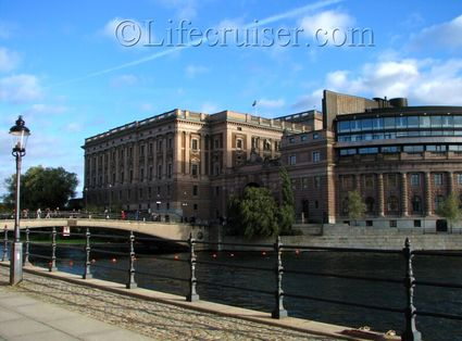Stockholm Palace glimpse, Sweden