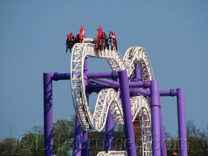 Stockholm-rollercoaster-insane, Gröna Lund Tivoli, Sweden