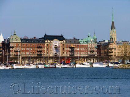 Stockholm: Strandvägen boats, Sweden