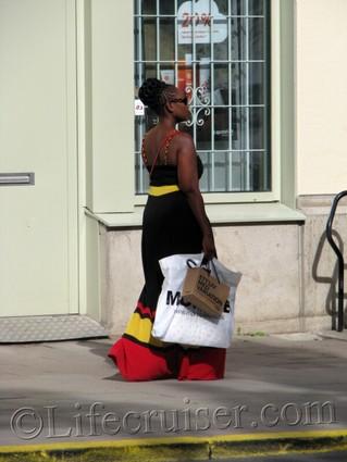 Stockholm street-lady, Sweden