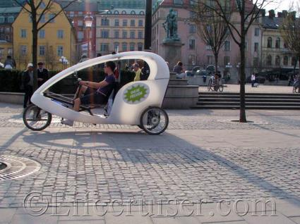 Stockholm-tricycle, Sweden
