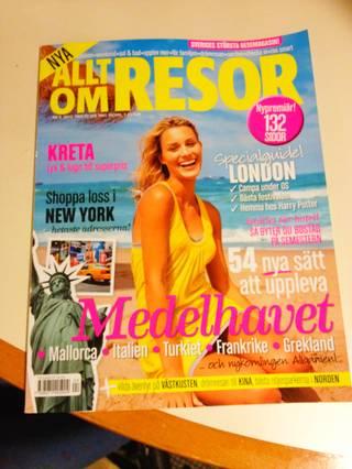 Sweden: Swedish travel magazine Allt om resor