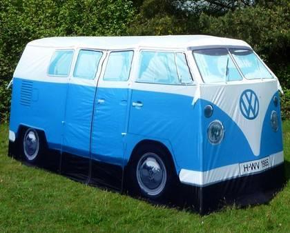 vw-camper-van-blue-retro-tent